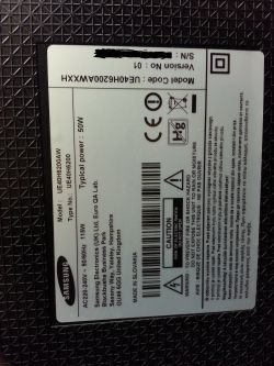 Samsung ue40h6200aw - Jakie listwy led