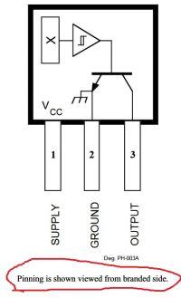Czujnik Halla - zliczanie impulsów zewnętrznych.
