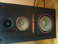 Kolumny Fisher STE-171 - naprawa głośników niskotonowych