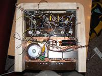 Wzmaczniacz PP na lampach 6L6GT z zasilaczem z lampami 6D22S