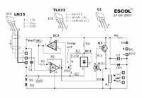 Prosty analogowy termostat