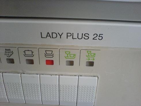 Zmywarka Siemens lady plus 25 nie załącza sie. szczegóły ...