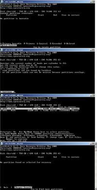 Samsung HD753LJ - Utrata partycji z danymi