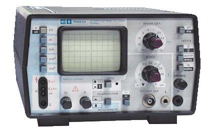 Oscyloskop C-112- problem z multimetrem