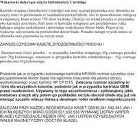 HP CP 1215 - regeneracja tonerów