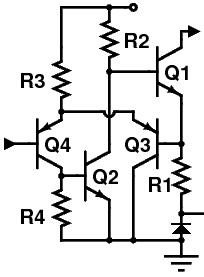 Budowa prostego regulowanego stabilizatora prądu - poprawność schematu