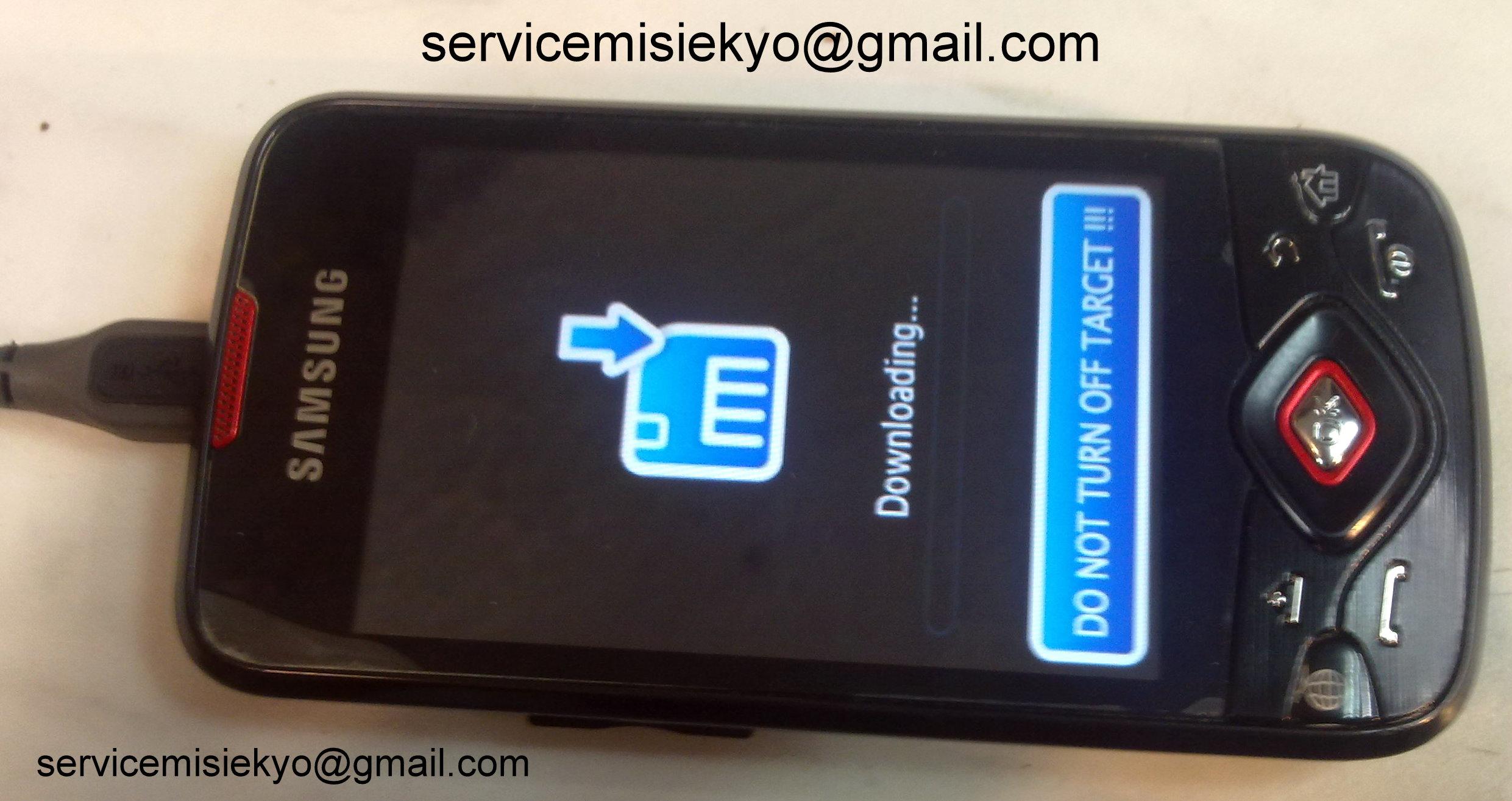 Instrukcja wgrywania nowego softu do Samsung i5700 Spica