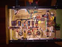 PCL805 Lampa odchylania pionowego jako głośnikowa.