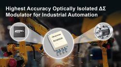 Izolowany optycznie modulator Delta-Sigma do zastosowań automatyki przemysłowej