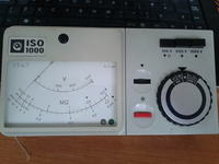 Isolationsmesser ISO 1000 - Miernik do pomiaru rezystancji izolacji obsługa