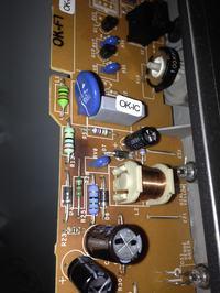 Ariston MBA3832VI - alarm i migoczące diody