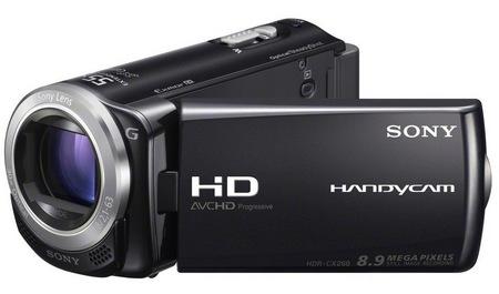 Sony Handycam HDR-CX260V i HDR-XR260V - nowe kamery Full HD