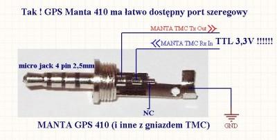 Prosta komunikacja z nawigacj� Manta Easy Rider 060