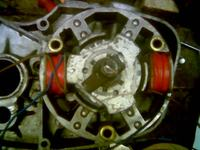 WSK 175 - Brak iskry zapłon CDI