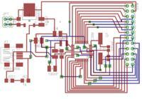 ATMEGA8 - Pro�ba o sprawdzenie schematu i p�ytki PCB