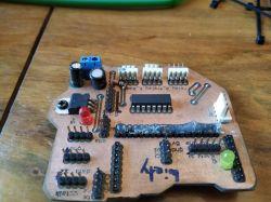 Mini frezarka do PCB i innych