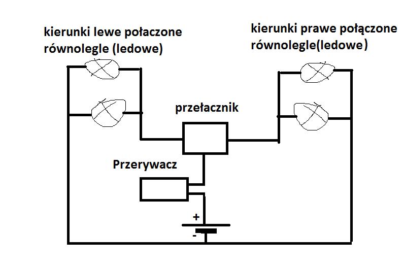 Podłączenie przekaźnika migacza