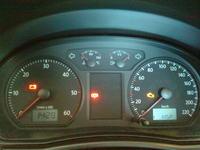 VW polo 1.4 tdi 2008 - Świecąca kontrolka service INSP