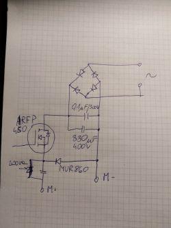 HS-07366 - Bieżnia HS-07366 grzeje się tranzystor Mosfet IRFP450