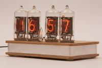 Zegar lampowy nixie electroNIXclock 4xZ573M zasilany z USB