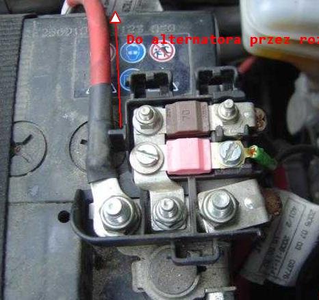 Fiat Grande Punto 1.2 8V 2007 - Rozładowuje sprawny akumulator w ciągu doby