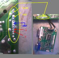 Benq Q7T5 - nie działa inwerter.