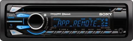 Sony MEX-GS600BT/MEX-BT4100P/MEX-BT3100P- odtwarzacz CD z Bluetooth i App Remote