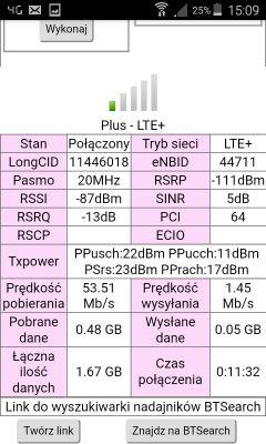 """Mobilny z Plusa """"w lesie"""" na Huawei B525"""