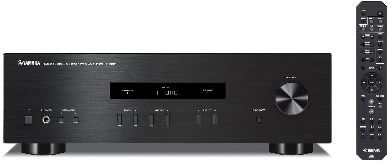 Yamaha A-S201 - amplituner stereo z przedwzmacniaczem gramofonowym za 999 z�
