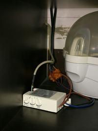 Jaki czujnik ruchu do sterowania oświetleniem w podbitce dachowej?