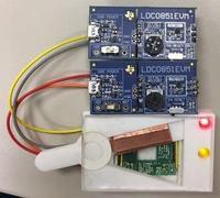 Indukcyjny sensor stanu przełącznika dźwigniowego