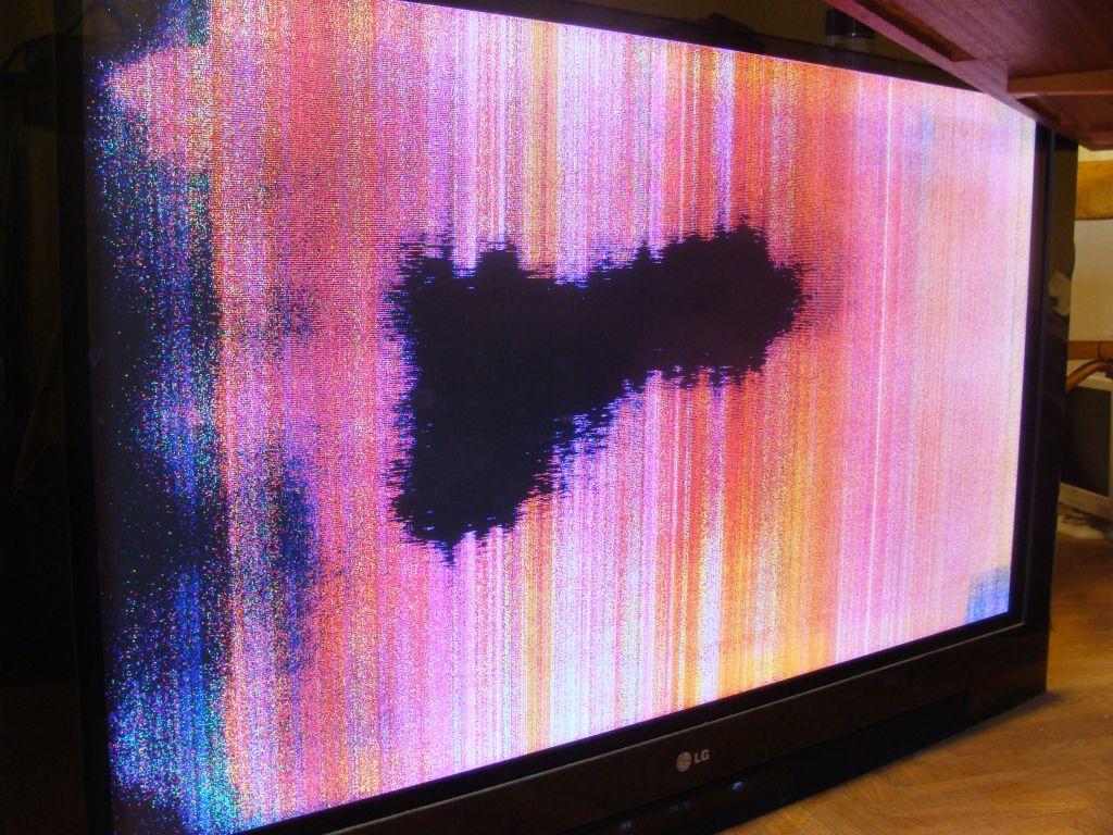 TV PLASMA LG 50PY2R - brak obrazu