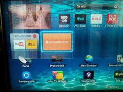 Samsung UE40ES6800SXXH - poziome paski na ekranie