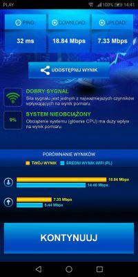 Problem z prędkością internetu LTE od T-Mobile, router B525