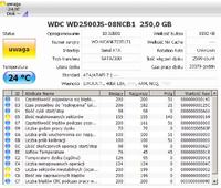 "Dysk WD2500JS - komunikat BIOS-u ""No ID Hard Disk detected"""