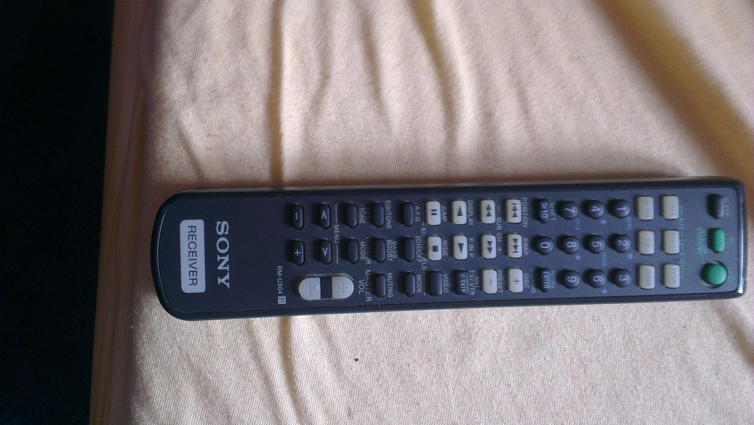 [Sprzedam]Pilot SONY RMU304 Audio/Video Receiver Remote Control