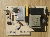 Elektra Flexit CV 200 - spalony modu� steruj�cy do odkurzacza centralnego.
