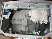 Pralka Electrolux EWS106410S-Wymiana łożysk 6205ZZ, 6204ZZ, zimering-30x52x10/12