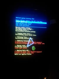 GALAXY S I9000 - Nie uruchamia się po wgraniu roota, rootowaniu
