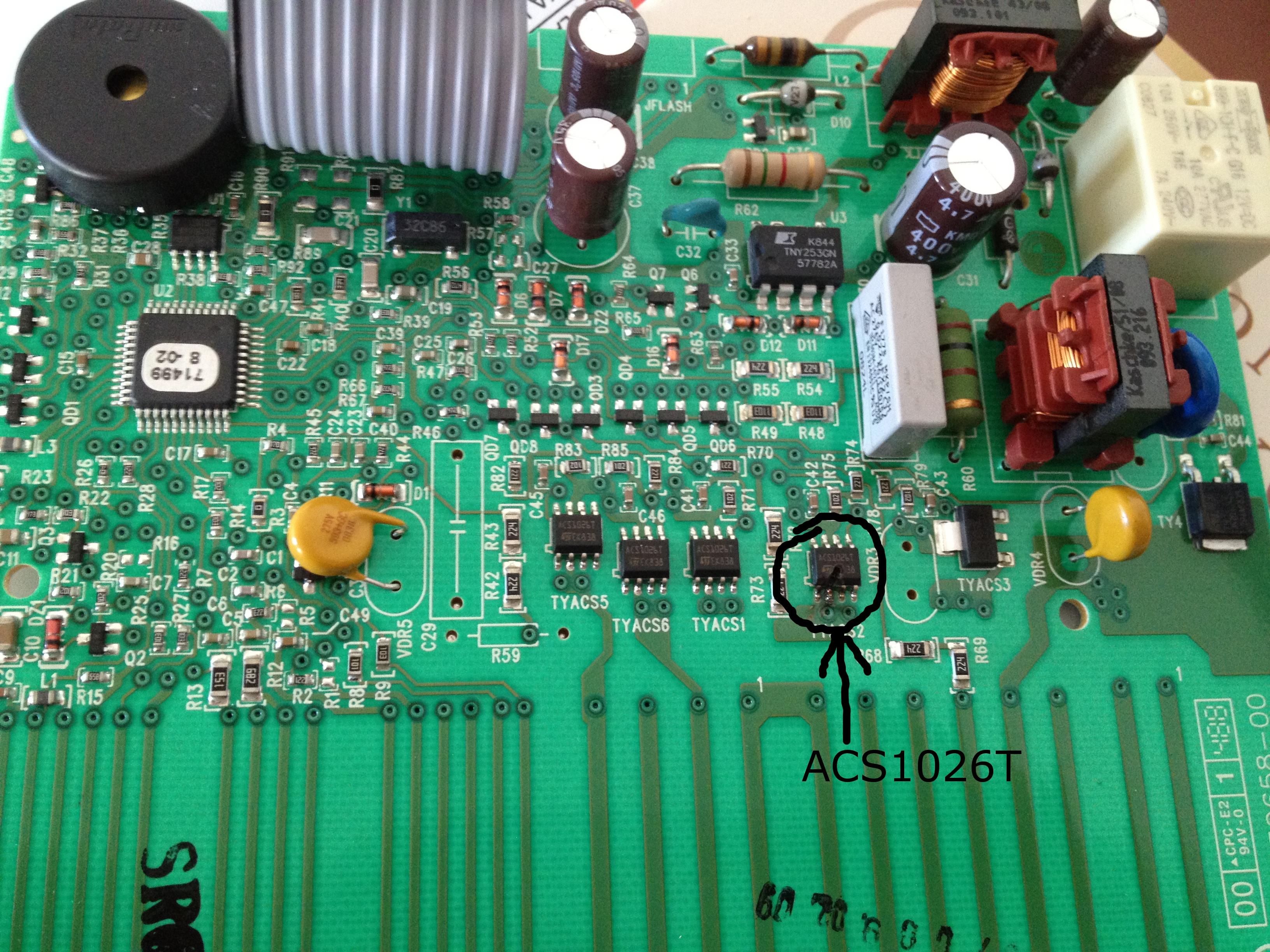 Zmywarka Electrolux ESL67050 nie pobiera wody b��d i10