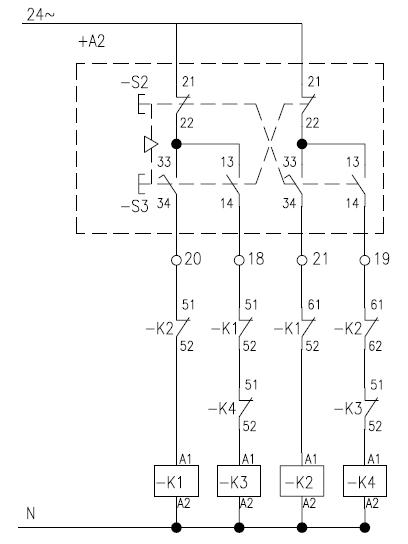 silnik dwubiegowy, pod��czenie do systemu sterowania bezprzewodowego