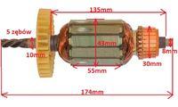 Przezwojenie wirnika - problem z odtworzeniem uzwojenia?
