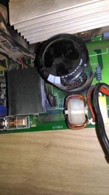 spawarka ariw125 rozkworth spalony kondensator