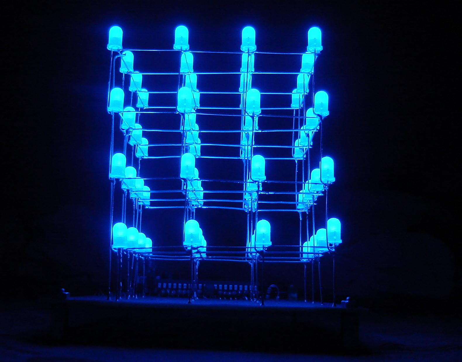 Led Cube 4x4x4 Atmega16 C