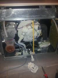 IGNIS ADL 350 - Zmywarka tylko odpompowuje wodę