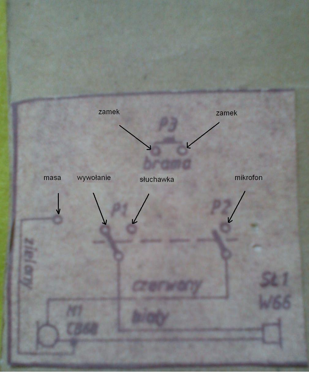 wymiana domofonu pi�cioprzewodowego