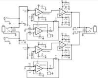 Wzmacniacz słuchawkowy oparty na LME49600