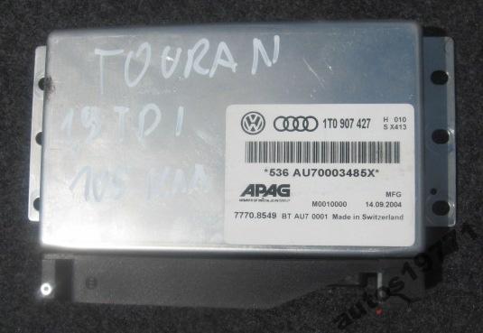 VW Touran 2005 1.9Tdi - TAXi nie zapala - antynapad