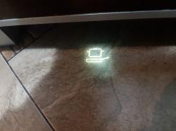 Bosch SMV68TX04E - niewyraźny wyświetlacz podłogowy