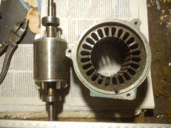 Wybór silnika na pierwszą prądnicę.